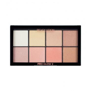 Makeup Revolution - Paleta Iluminadores Ultra Pro Glow 2