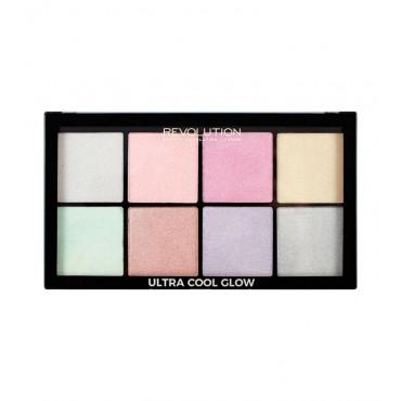 Makeup Revolution - Paleta Iluminadores Cool Glow