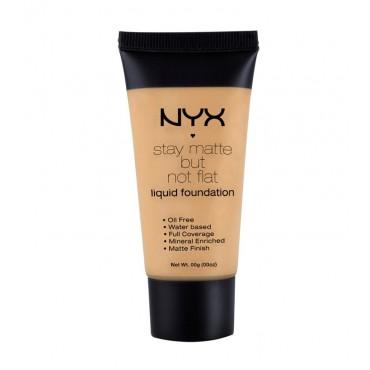 Nyx - Base de maquillaje fluida Stay Matte But Not Flat - Natural