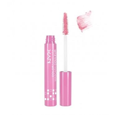 Nyx - Mascara con color - Pink Perfect