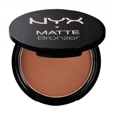 Nyx - Bronceador Matte Bronzer - Deep