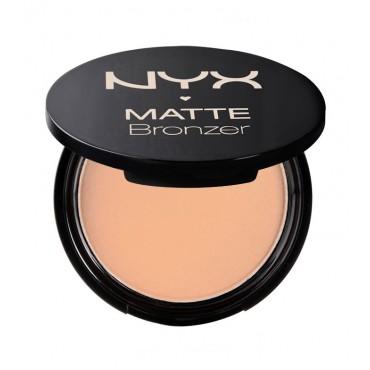Nyx - Bronceador Matte Bronzer - Deep Tan