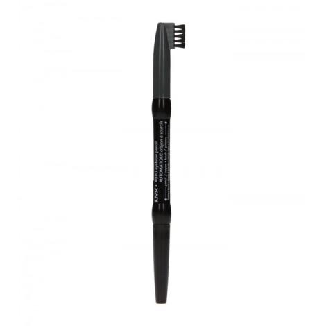 NYX Professional Makeup - Lapiz de cejas automatico - Charcoal