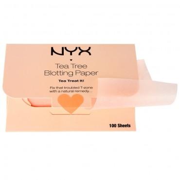 Nyx - Papeles Matificantes Tea Tree