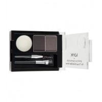 Nyx - Kit de cejas - Black/Grey