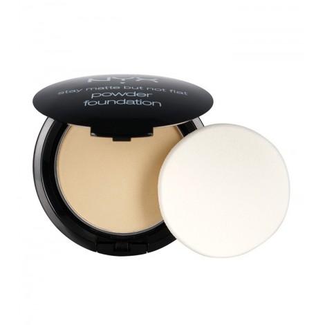 Nyx - Polvos compactos Powder Foundation - Nude