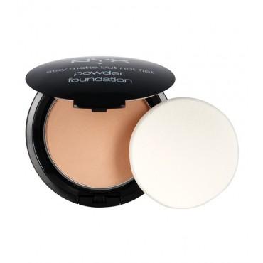 NYX Professional Makeup - Polvo compacto Powder Foundation - Golden Beige