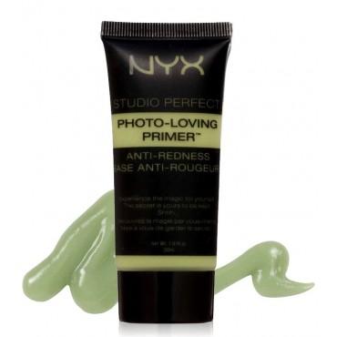 Nyx- Prebase Studio Perfect Photo-Loving Primer - Verde