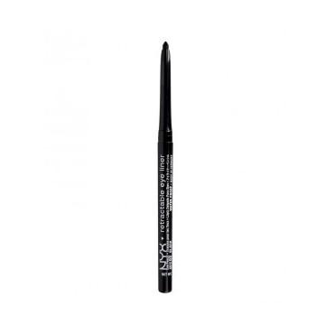 NYX Professional Makeup - Lápiz de ojos Retractable - MPE02: Black