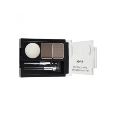 NYX Professional Makeup - Kit de cejas - ECP03: Taupe