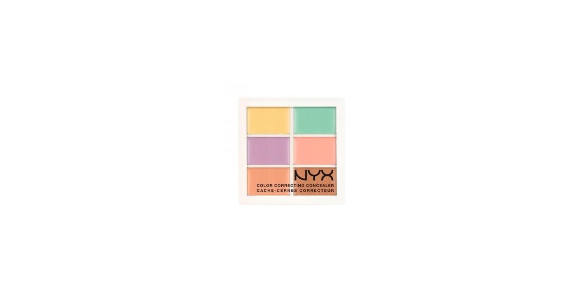 NYX - Paleta de Correctores Conceal Correct Contour - 3CP04: Corrector de Tono de Piel