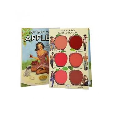The Balm - Paleta de colorete en crema para labios y mejillas - How 'bout them Apples?
