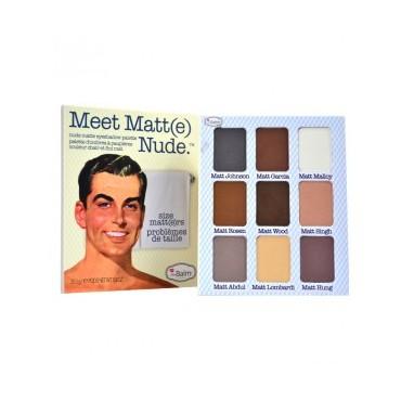 The Balm - Paleta Meet Matt(e) Nude