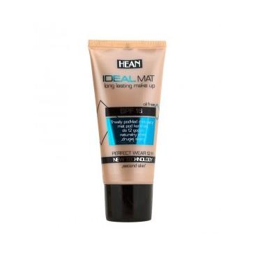 Hean - Base de maquillaje larga duración IDEAL MAT - 403 Natural