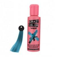 CRAZY COLOR Nº 63 - Crema colorante para el cabello - Bubblegum Blue 100ml