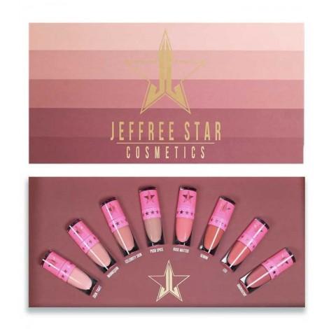 Jeffree Star Cosmetics - Bundle mini labiales líquidos Velour Vol.1 - The Nudes