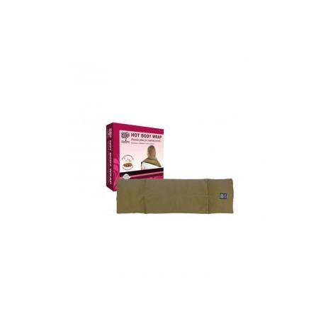 Treets - Almohada multifuncional térmica de Semillas de Lino - 70x20cm