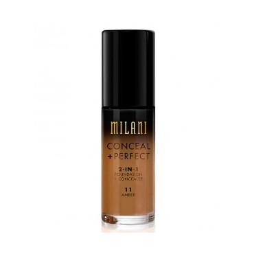 Milani - Base de maquillaje Conceal+Perfect 2-en-1 - 11: Amber
