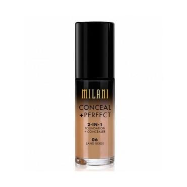 Milani - Base de maquillaje Conceal+Perfect 2-en-1 - 06: Sand Beige