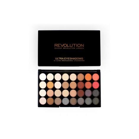 Makeup Revolution - Paleta de sombras - Flawless 2