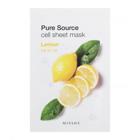 Missha - Mascarilla Pure Source - Limón