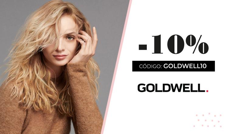 10% de descuento en Goldwell productos de peluquería profesional