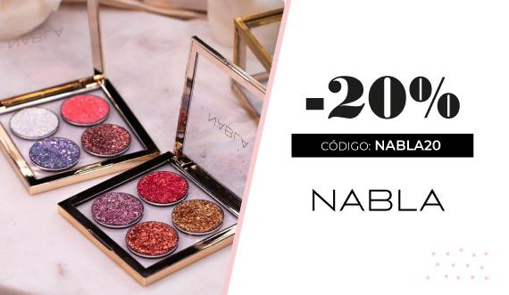 20% de descuento en maquillaje Nabla Cosmetics