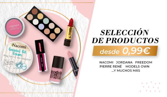 Outlet de productos de maquillaje. Desde 0,99€ en Canarias Makeup