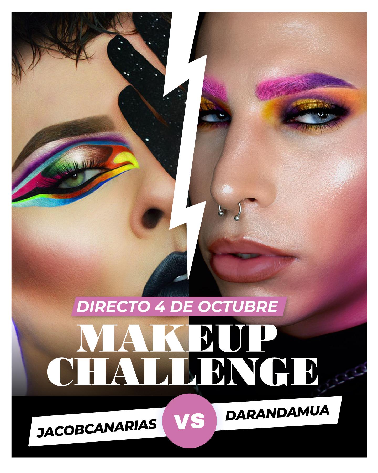 Canarias Makeup Challenge - Jacob Canarias Vs Darandamua