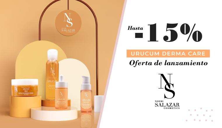 Noemi Salazar Cosmetics Gama Urucum