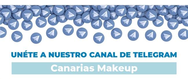 Canal de telegram de Canarias Makeup