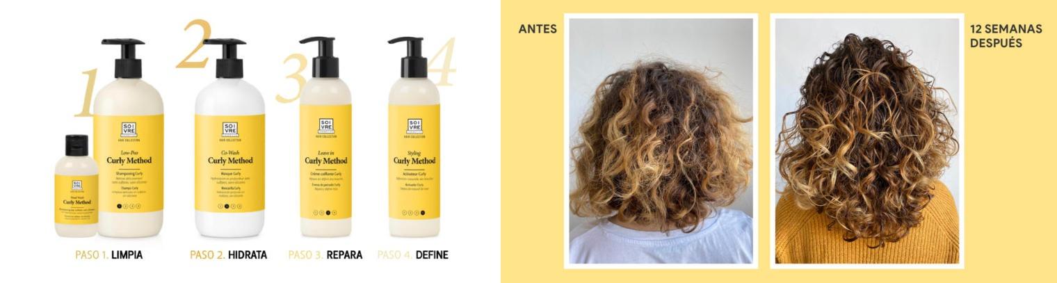 Rutina metodo curly soivre cosmetics