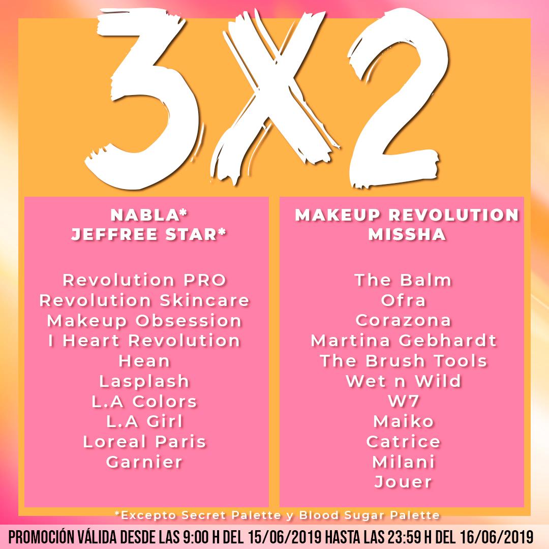 Super 3x2 en 25 Marcas