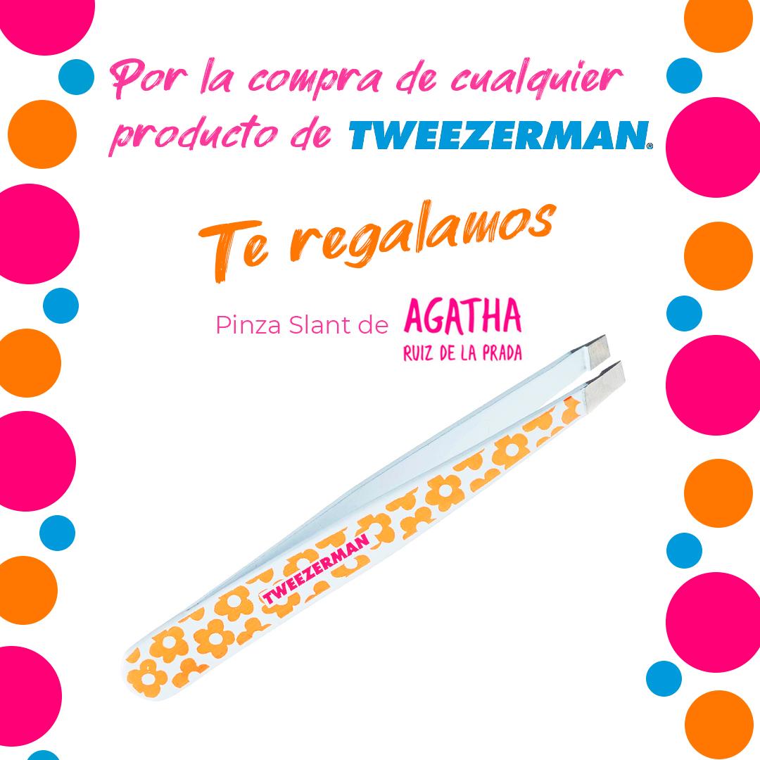 Regalo pinza Tweezerman Ed. Ltda. Agatha Ruiz de la Prada